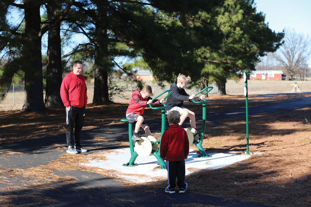 Van Buren trails system promotes school and community wellness