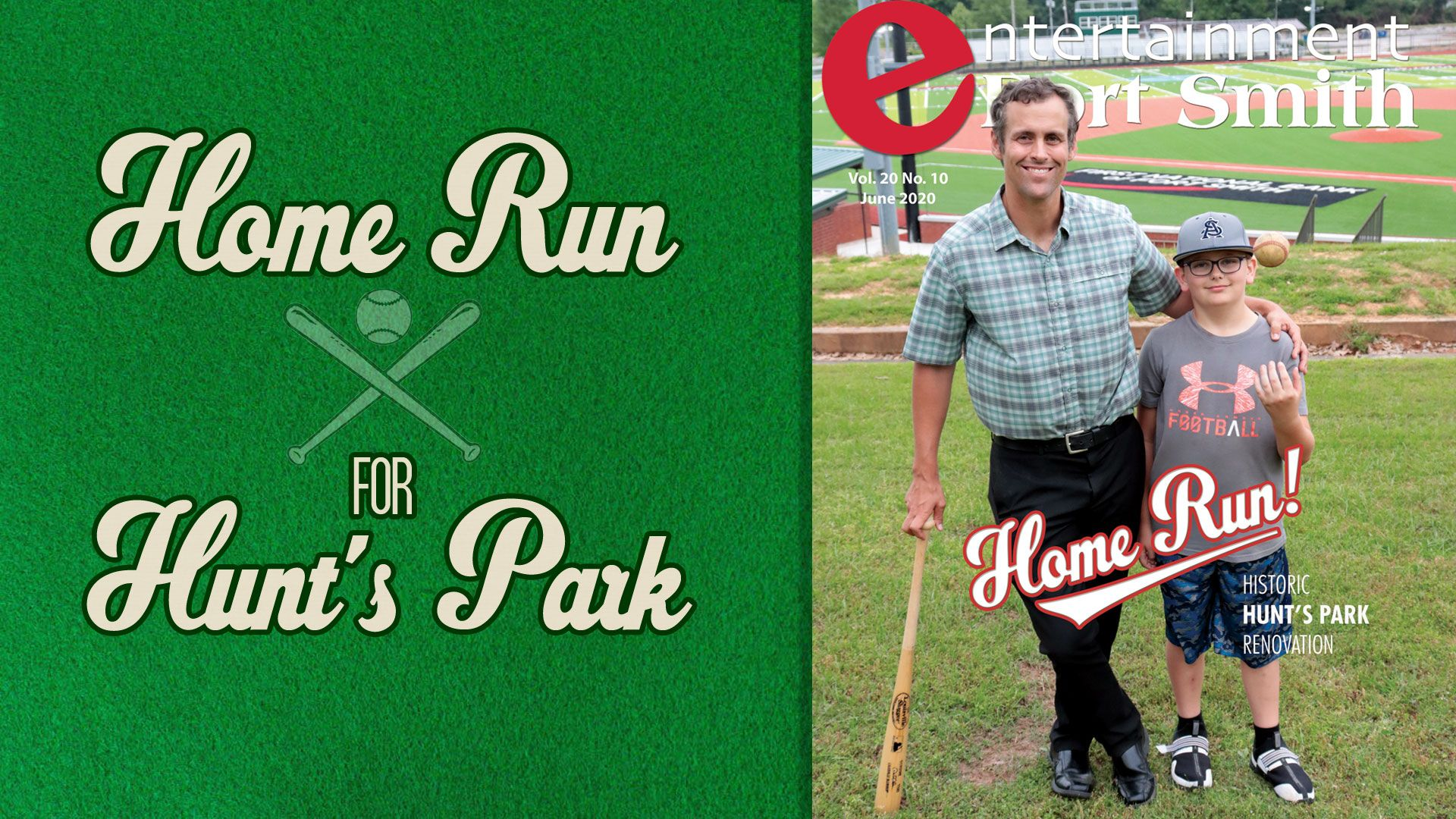 Home Run! Hunt's Park is refreshed for years of play