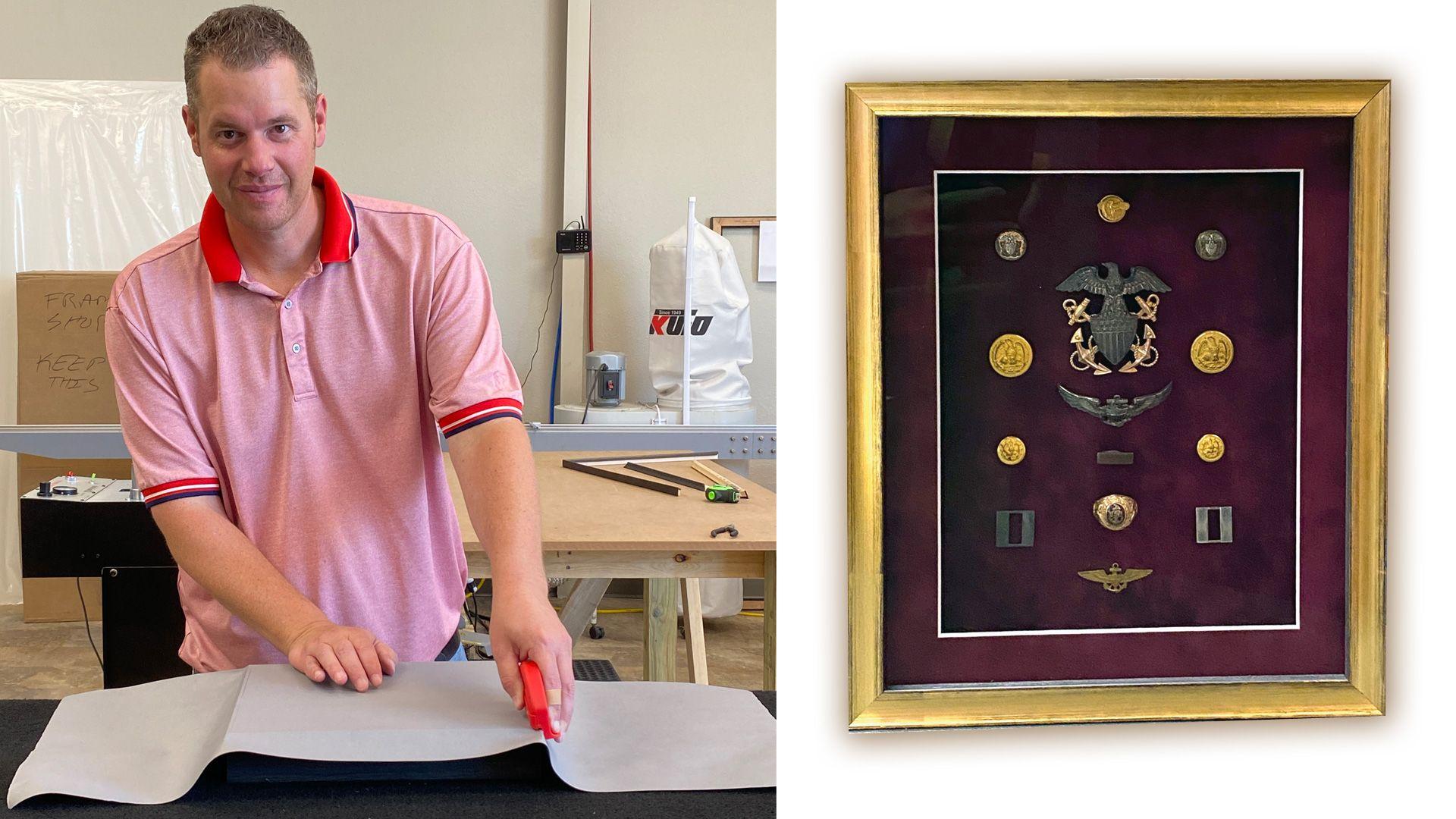 Allison Sales Company adds the artful service of custom art framing
