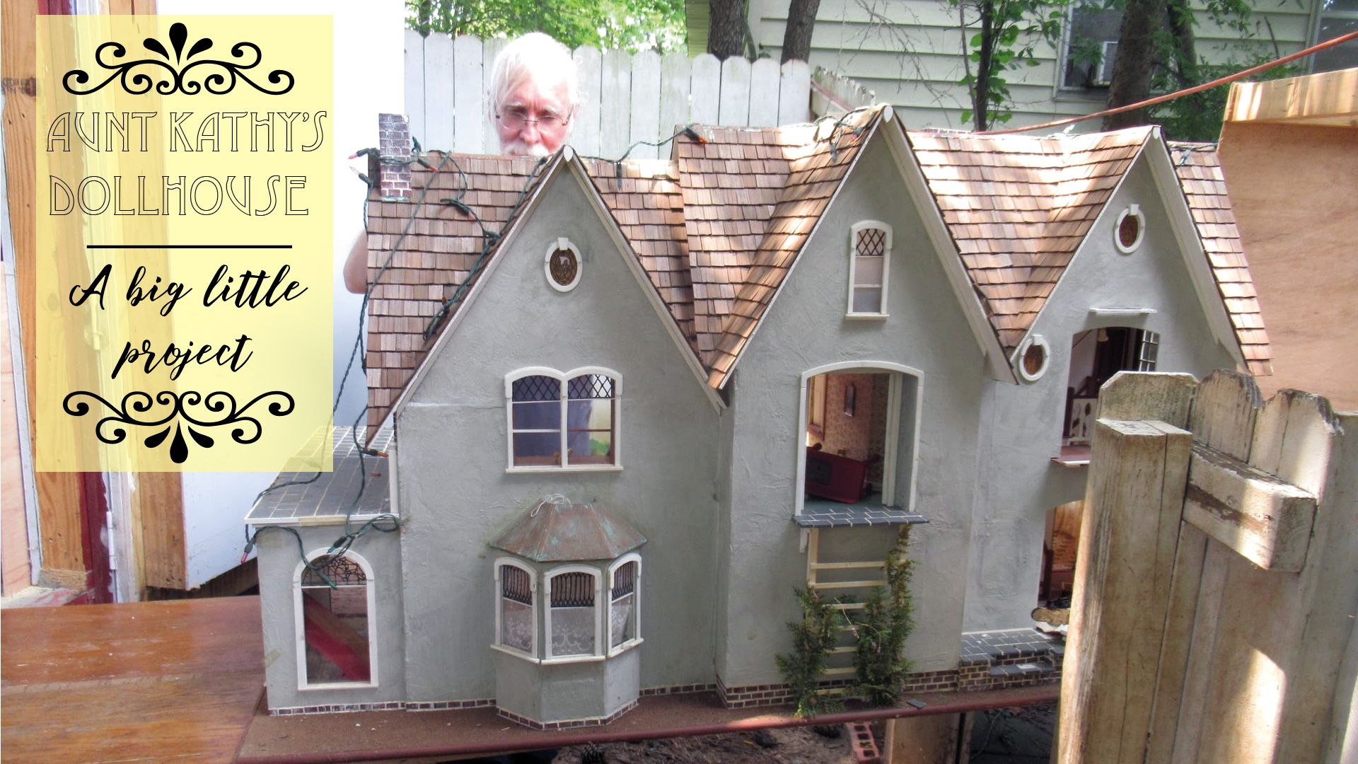Our own project: bringing Aunt Kathy's dollhouse back to life