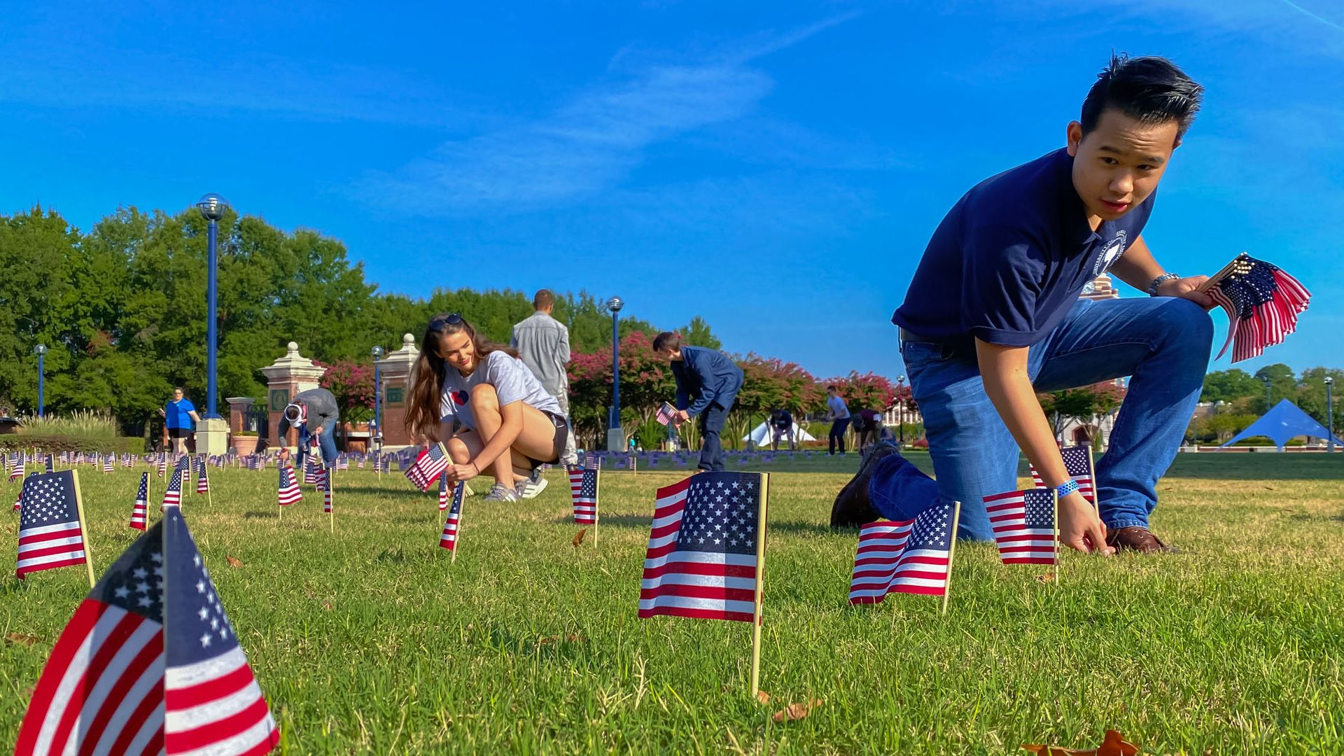 UAFS and community observe Sept. 11 with display and activities